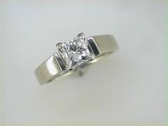 1.05ct Princess Cut Diamond