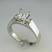 1.05ct Princess Cut Diamond2