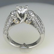 Karishma 18k white gold Diamond Wedding ring2