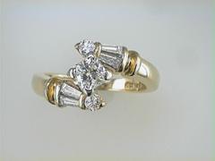 Martin Flyer Diamond ring