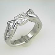 Platinum Diamond Engagement Ring 2