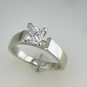 1.05ct Princess Cut Diamond1