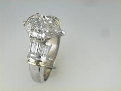 3.03ct Pear Shape Diamond